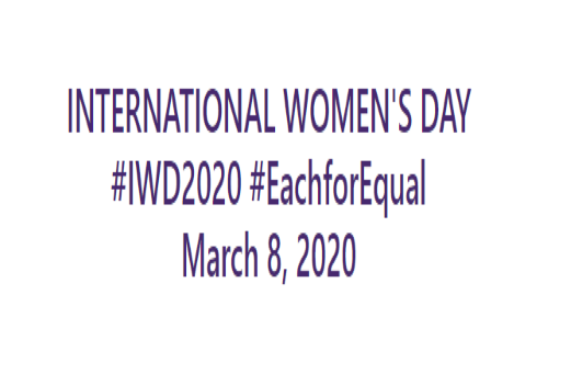 International Women's Day on the 8th March.